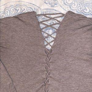 V-neck sweater